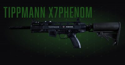 paintball gun market upgrade: tippman x7phenom