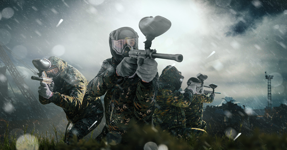 Paintball in the field